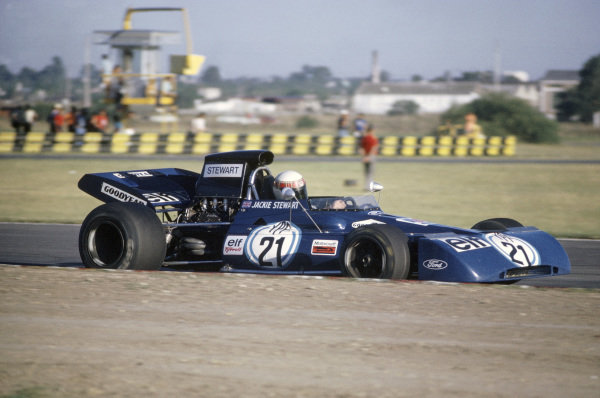 Buenos Aires, Argentina. 21-23 January 1972.Jackie Stewart (Tyrrell 003-Ford Cosworth), 1st position.World Copyright: LAT PhotographicRef: 35mm transparency 72ARG10
