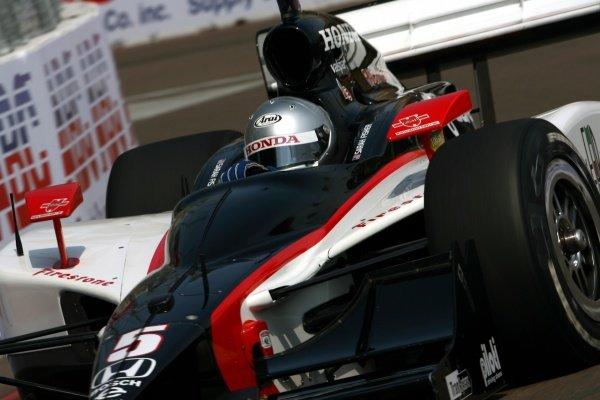 Sarah Fisher (USA), Dreyer & Reinbold Racing Dallara Honda.IRL IndyCar Series, Rd2, Honda Grand Prix of St Petersburg, Florida, USA. 31 March-01 April 2007.DIGITAL IMAGE