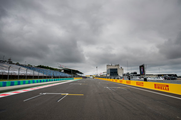2017 FIA Formula 2 Round 7. Hungaroring, Budapest, Hungary. Thursday 27 July 2017. A view of the track. Photo: Zak Mauger/FIA Formula 2. ref: Digital Image _56I0044
