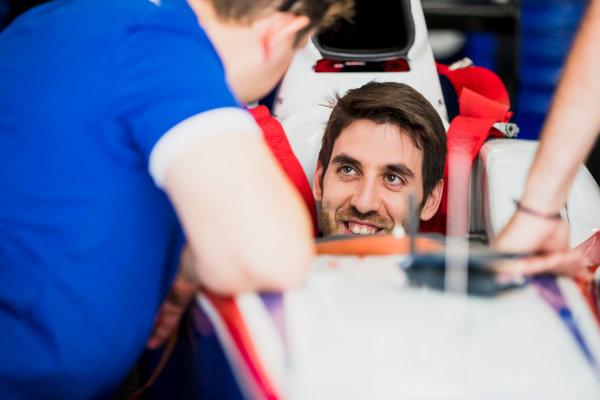 2017 FIA Formula 2 Round 4. Baku City Circuit, Baku, Azerbaijan. Friday 23 June 2017. Sergio Canamasas (ESP, Trident)  Photo: Zak Mauger/FIA Formula 2. ref: Digital Image _56I6515