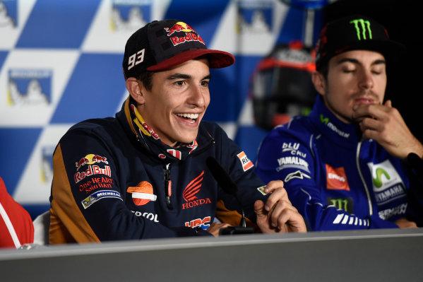 2017 MotoGP Championship - Round 16 Phillip Island, Australia. Thursday 19 October 2017 Marc Marquez, Repsol Honda Team World Copyright: Gold and Goose / LAT Images ref: Digital Image 698162
