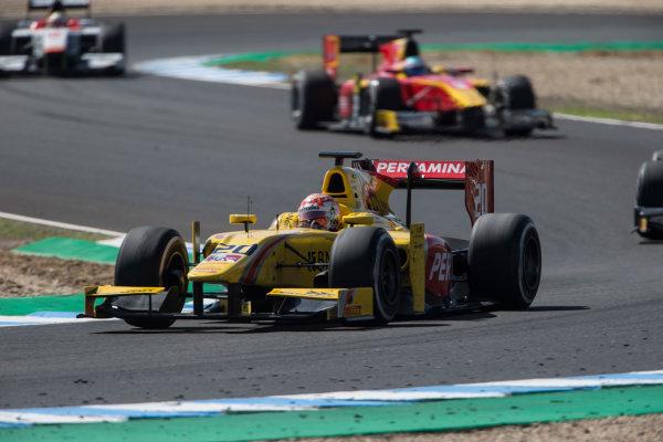 2017 FIA Formula 2 Round 10. Circuito de Jerez, Jerez, Spain. Saturday 7 October 2017. Norman Nato (FRA, Pertamina Arden).  Photo: Andrew Ferraro/FIA Formula 2. ref: Digital Image _FER1996