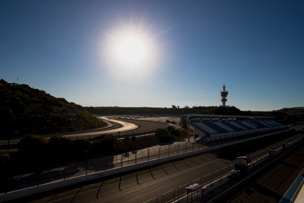 2017 FIA Formula 2 Round 10. Circuito de Jerez, Jerez, Spain. Thursday 5 October 2017. A view of the track. Photo: Zak Mauger/FIA Formula 2. ref: Digital Image _56I3764