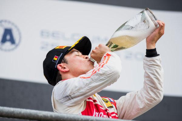 2017 FIA Formula 2 Round 8. Spa-Francorchamps, Spa, Belgium. Sunday 27 August 2017. Nyck De Vries (NED, Racing Engineering).  Photo: Zak Mauger/FIA Formula 2. ref: Digital Image _54I3322