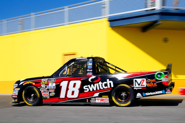 NASCAR Camping World Truck Series Las Vegas 350 Las Vegas Motor Speedway, Las Vegas, NV USA Saturday 30 September 2017 Noah Gragson, Switch Toyota Tundra World Copyright: Russell LaBounty LAT Images