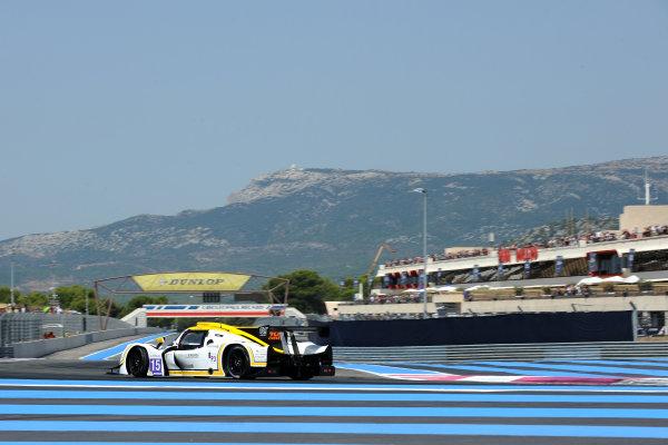 2017 European Le Mans Series, Le Castellet, France. 25th - 27th August 2017. #15 John Farano (CAN) / Morten Dons (DNK) / Alex Kapadia (GBR) - RLR MSPORT - Ligier JS P3 ? Nissan World Copyright: JEP/LAT Images