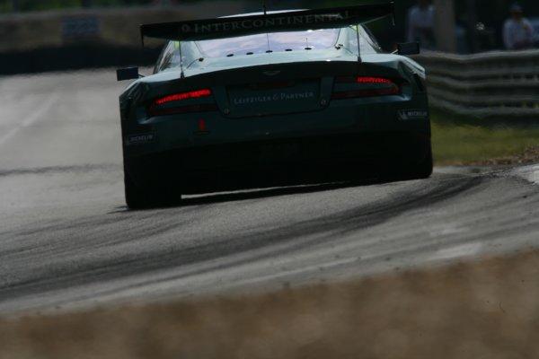 2007 Le Mans Test Day2nd and 3rd June 2007.Le Mans, France.Sunday Test DayDavid Brabham (AUS)/Rickard Rydell (SWE) (no 009 Aston Martin DBR9) action.World Copyright: Glenn Dunbar/LAT Photographic. ref: Digital Image YY8P5820