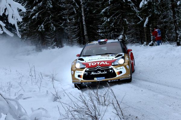 2013 World Rally Championship Swedish Rally 7th - 10th February 2013 Sebastien Loeb, Citroen, action Worldwide Copyright: McKlein/LAT