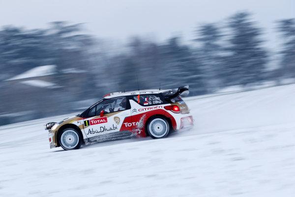 2013 World Rally Championship Monte Carlo Rally 15th - 20th January 2013 Sebastien Loeb, Citroen, action Worldwide Copyright: McKlein/LAT