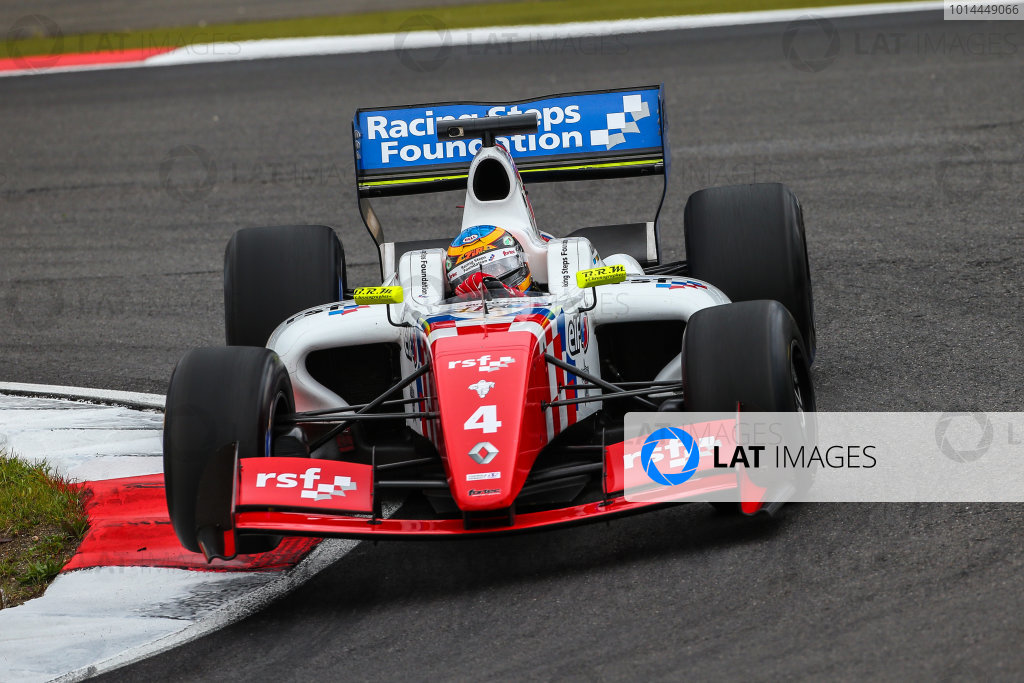 NURBURG (GER) Sept 11-13 2015 - World series by Renault 2015, round 7 at the Nurburgring. Oliver Rowland #4 Fortec. Action. © 2015 Diederik van der Laan  / Dutch Photo Agency / LAT Photographic
