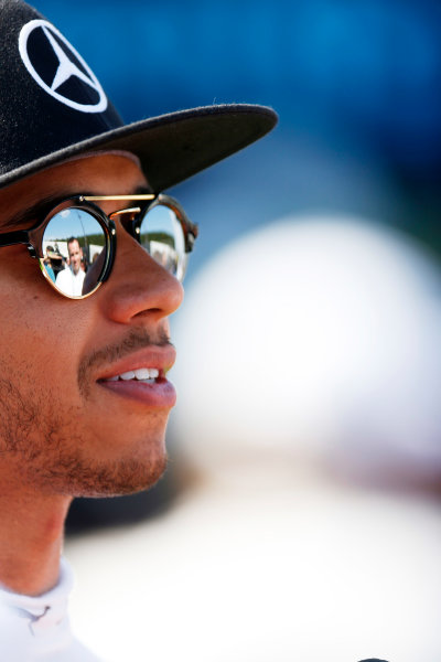 Spa-Francorchamps, Spa, Belgium. Saturday 22 August 2015. Lewis Hamilton, Mercedes AMG. World Copyright: Alastair Staley/LAT Photographic ref: Digital Image _R6T5688