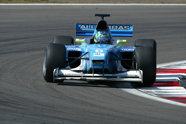 2004 Formula 3000 Championship (F3000) Nurburgring, Germany.29th May 2004. Yannick Schroeder (Durango Formula). Action.World Copyright: LAT Photographic ref: Digital Image Only