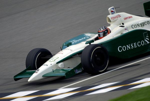 2003 IRL IndyCar Michigan International Speedway 7/25-7/27/2003, Brooklyn,Michigan USAA. J. Foyt IVWorld Copyright-Walt Kuhn 2003 LAT Photographicref: Digital Image Only