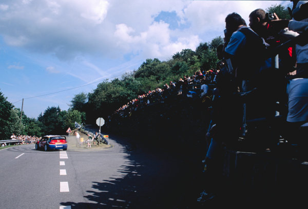 2003 World Rally ChampionshipRally Deutschland, Germany. 25th - 27th July 2003.Colin McRae / Derek Ringer (Citroen Xsara), action.World Copyright: McKlein/LAT Photographicref: 35mm Image A05