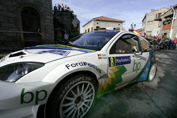 2004 FIA World Rally Champs. Round fourteen, 