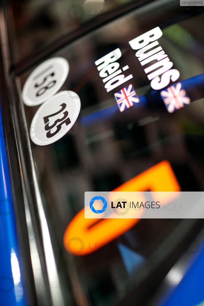 Autosport International Show NEC, Birmingham.  Friday 10 January 2014. Richard Burns's Subaru Impreza. World Copyright:Alastair Staley/LAT Photographic ref: Digital Image _R6T3931