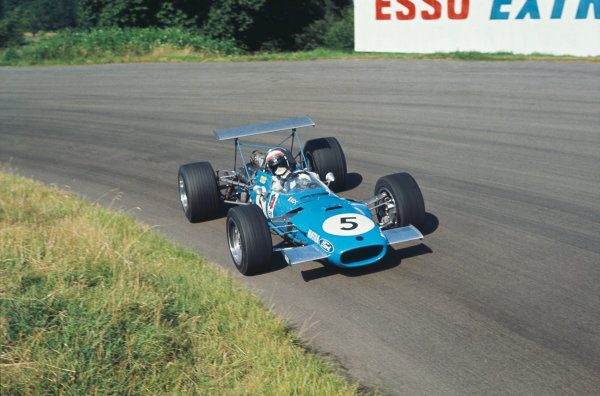 1968 International Gold Cup.  Oulton Park, England. 17th August 1968.  Jackie Stewart, Matra MS10 Ford, 1st position.  Ref: 68GC01. World Copyright: LAT Photographic