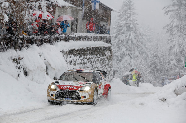 2014 World Rally Championship Monte Carlo Rally 13th - 19th January 2014 Kris Meeke, Citroen, action Worldwide Copyright: McKlein/LAT