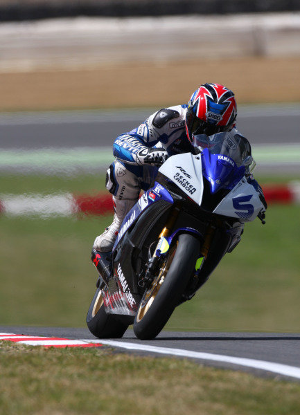 2008 World Superbike Championship  Brands Hatch, England. 1st - 3rd August 2008.  Supersport World Championship.  Karl Harris, Yamaha, action. World Copyright: Kevin Wood/LAT Photographic  ref: Digital Image
