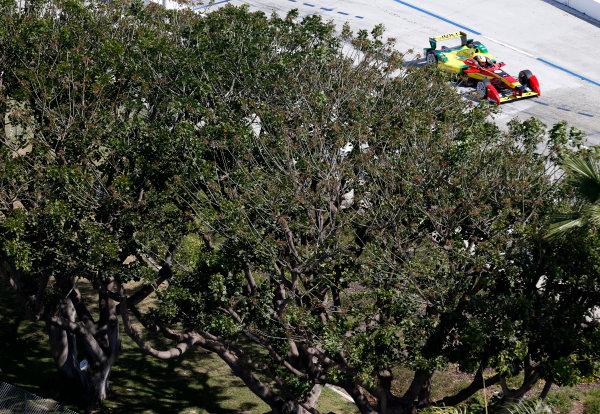 2014/2015 FIA Formula E Championship. Long Beach ePrix, Long Beach, California, United States of America. Friday 3 April 2015 Daniel Abt (GER)/Audi Abt Sport - Spark-Renault SRT_01E  Photo: Jed Leicester/LAT/Formula E ref: Digital Image _JL20212