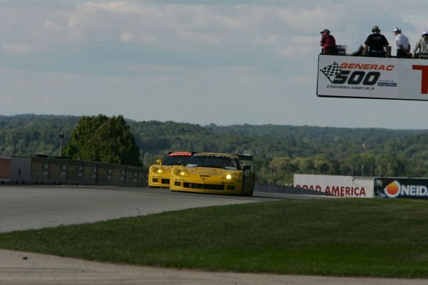 The Corvettes took 1st and 2nd in the GT1 class.American Le Mans Series, Rd7, Road America, Elkhart Lake, USA, 19-21 August 2005.DIGITAL IMAGE