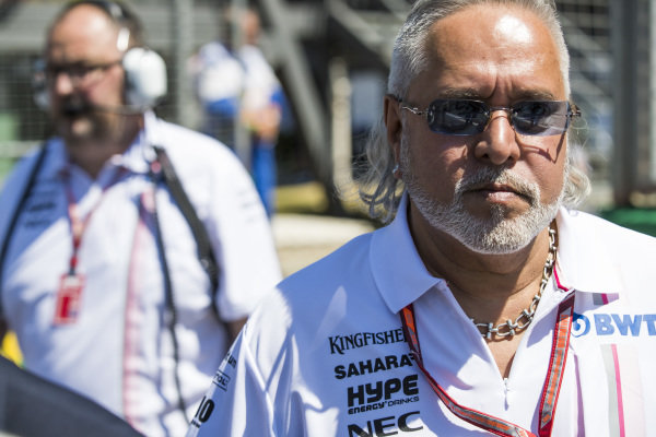 Force India enters administration