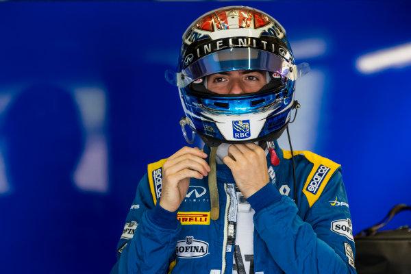 2017 FIA Formula 2 Round 10. Circuito de Jerez, Jerez, Spain. Saturday 7 October 2017. Nicholas Latifi (CAN, DAMS).  Photo: Zak Mauger/FIA Formula 2. ref: Digital Image _56I6026