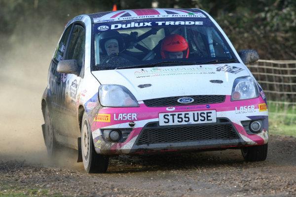 Rallye Sunseeker, 25th-26th February 2011Louise Cook/Stefan Davis - Ford FiestaWorld Copyright: Ebrey/LAT Photographic