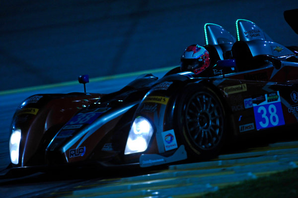 6-7 June, 2014, Kansas City, Kansas USA 38, Chevrolet, ORECA FLM09, PC, David Ostella ?2014, F. Peirce Williams LAT Photo USA