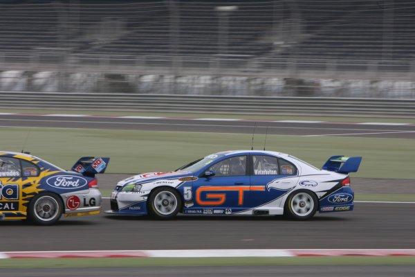 V8 Supercars Championship Round 12. V8 Supercars driver  Mark Winterbottom during the Desert 400 in Bahrainth. November 23-25, 2006. Mark Horsburgh