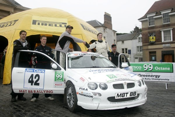 Matt BeebeJim Clark Rally2006 British Rally ChampionshipKelso, ScotlandWorldwide copyright: Ebrey/LAT Photographic