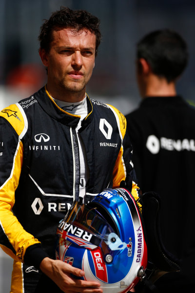 Red Bull Ring, Spielberg, Austria. Friday 1 July 2016. Jolyon Palmer, Renault Sport F1. World Copyright: Andrew Hone/LAT Photographic ref: Digital Image _ONZ5049