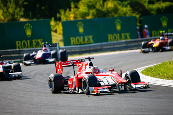 Hungaroring, Budapest, Hungary. Saturday 29 July 2017 Charles Leclerc (MCO, PREMA Racing).  Photo: Hone/FIA Formula 2 ref: Digital Image _ONZ9806