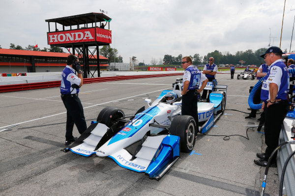Verizon IndyCar Series Honda Indy 200 at Mid-Ohio Mid-Ohio Sports Car Course, Lexington, OH USA Friday 28 July 2017 Alexander Rossi, Andretti Herta Autosport with Curb-Agajanian Honda World Copyright: Phillip Abbott LAT Images ref: Digital Image abbott_midohio_0717_0035
