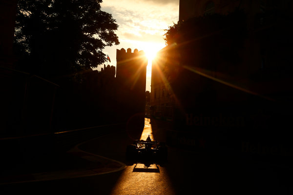 Baku City Circuit, Baku, Azerbaijan. Friday 23 June 2017. Kevin Magnussen, Haas VF-17 Ferrari.  World Copyright: Andrew Hone/LAT Images ref: Digital Image _ONZ6606