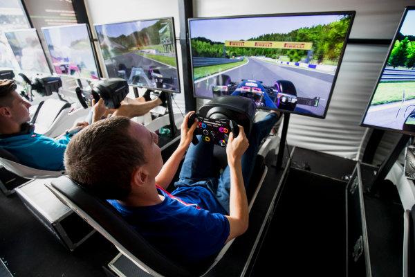 2017 FIA Formula 2 Round 5. Red Bull Ring, Spielberg, Austria. Saturday 8 July 2017. Raffaele Marciello (ITA, Trident).  Photo: Zak Mauger/FIA Formula 2. ref: Digital Image _54I7910