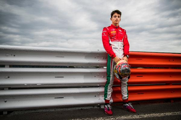 2017 FIA Formula 2 Round 6. Silverstone, Northamptonshire, UK. Thursday 13 July 2017. Charles Leclerc (MCO, PREMA Racing).  Photo: Zak Mauger/FIA Formula 2. ref: Digital Image _56I6315