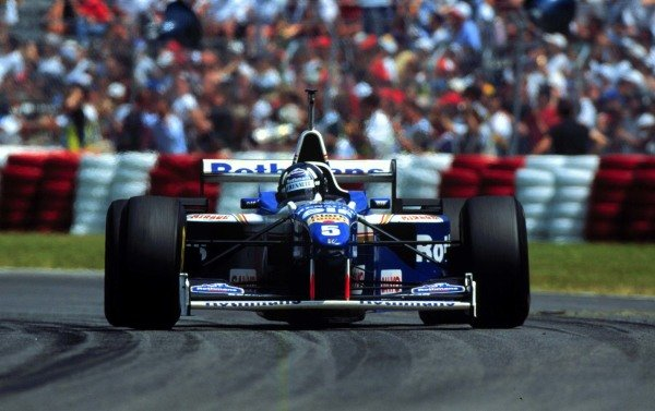 1996 Canadian Grand Prix.Montreal, Quebec, Canada.14-16 June 1996.Damon Hill (Williams FW18 Renault) 1st position.World Copyright - LAT Photographic