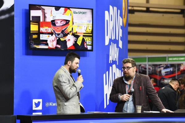 BTCC driver Dan Rowbottom is interviewed by Matt James.