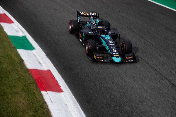 AUTODROMO NAZIONALE MONZA, ITALY - SEPTEMBER 06: Sergio Sette Camara (BRA, DAMS) during the Monza at Autodromo Nazionale Monza on September 06, 2019 in Autodromo Nazionale Monza, Italy. (Photo by Joe Portlock / LAT Images / FIA F2 Championship)