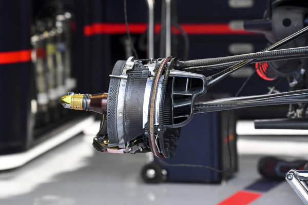 Front brake of Red Bull Racing RB15