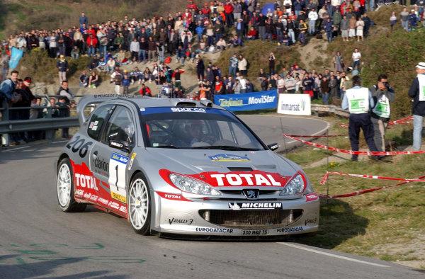 2002 World Rally ChampionshipRally Catalunya, 21st-24th March 2002.Richard Burns on Stage 13.Photo: Ralph Hardwick/LAT