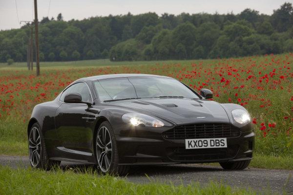 Aston Martin, DBS coupe, 2011