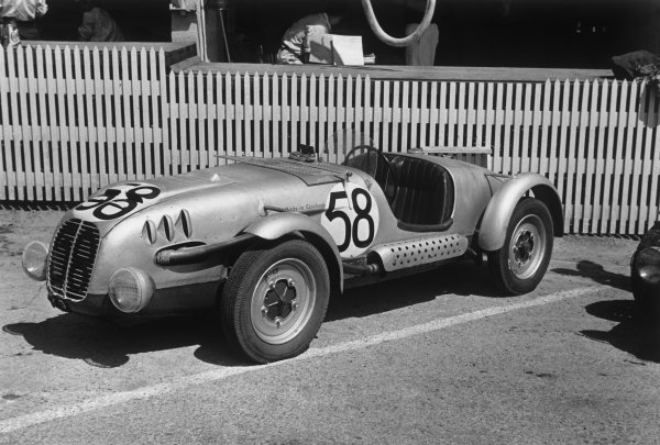 Le Mans, France. 25th - 26th June 1949.