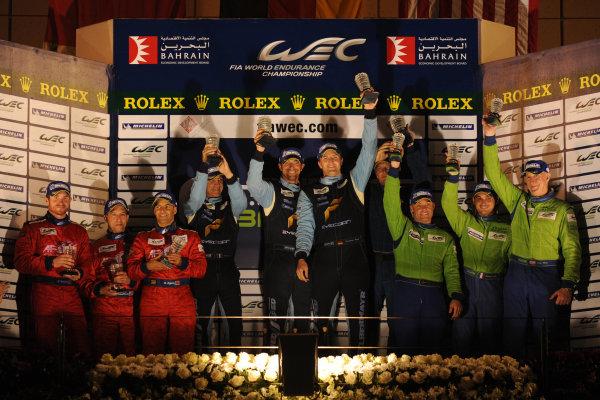 Bahrain, 27th-29th September 2012,GT AM PodiumWorld copyright: Ebrey/LAT Photographic