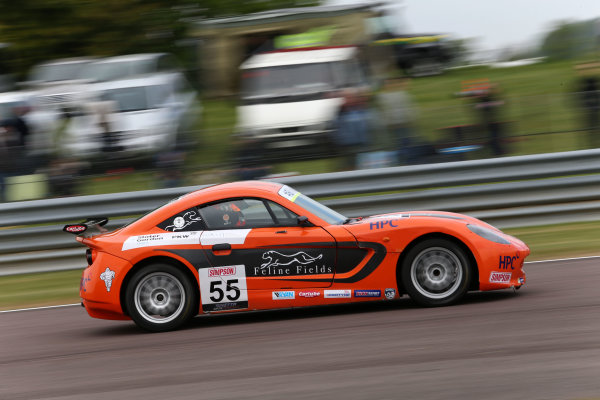 2017 Ginetta Junior championship  Thruxton, 6th-7th May 2017,  Ruben Del Sarte HHC Motorsport Ginetta Junior World copyright. JEP/LAT Images