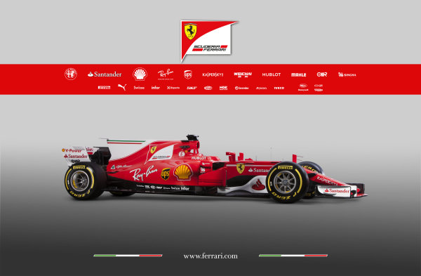 Ferrari SF70H Launch Images. Maranello, Italy. Friday, 24 February, 2017. Photo: Copyright Free Ferrari. Editorial use only. Ref: 170013_SF70H
