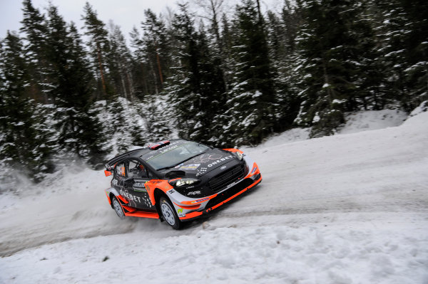 2017 FIA World Rally Championship, Round 02, Rally Sweden, February 09-12, 2017, Mads Ostberg, Ford, Action Worldwide Copyright: McKlein/LAT