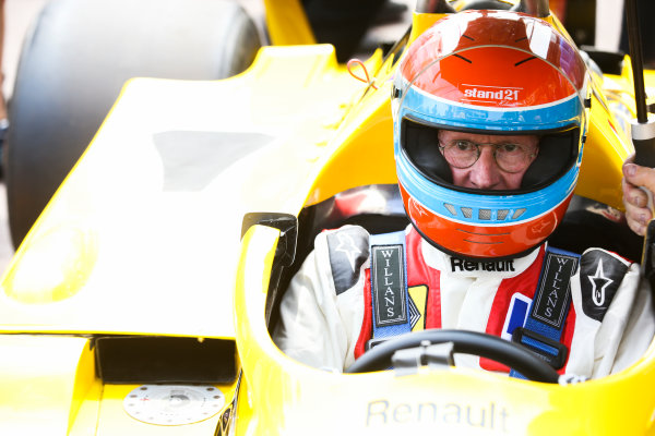 Monte Carlo, Monaco. Friday 26 May 2017. Jean-Pierre Jabouille, Renault RS01. World Copyright: Charles Coates/LAT Images ref: Digital Image DJ5R7511