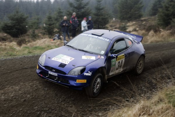 2007 British Rally Championship,Pirelli International Rally, Carlisle, Cumbria. 20th-21st April 2007.S DavisWorld Copyright: Ebrey/LAT photographic.